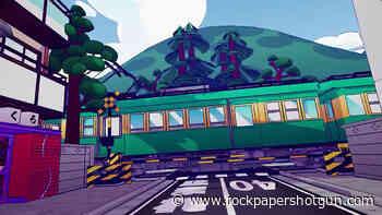 Inconvenient train crossings are a delightful alternative to invisible walls - Rock Paper Shotgun
