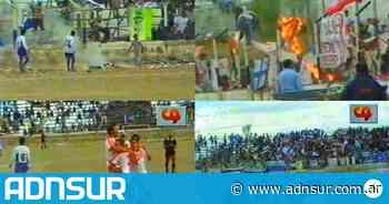 Huracán y Newbery en el 2000: el video de un clásico comodorense que se volvió viral - ADN Sur