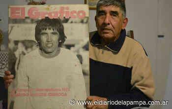 El pampeano que jugó en el Huracán del 73 - El Diario de La Pampa
