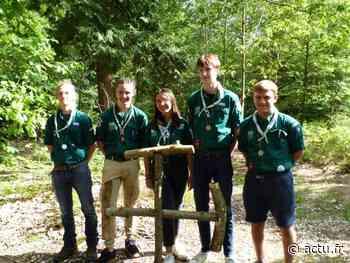Cinq scouts de Louviers-Val-de-Reuil montent un camp écologique cet été - actu.fr