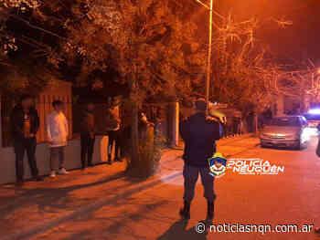 Desarticulan fiesta clandestina en el barrio Villa Maria - Noticias NQN