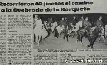El recuerdo de la primera marcha a la Horqueta a mediados de los '80 - El Tribuno.com.ar