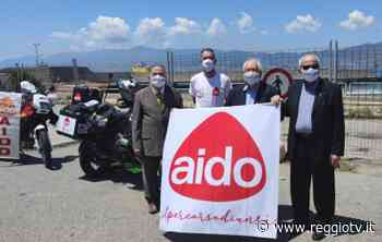 AIDO by motorbike, tappa a Villa San Giovanni per Marco Troietto - Reggio TV