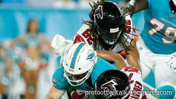 Dolphins will host Falcons for joint practices in August