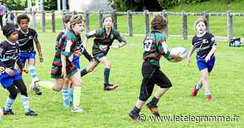 L'école de rugby du Rugby-club de Morlaix termine troisième de Bretagne - Le Télégramme