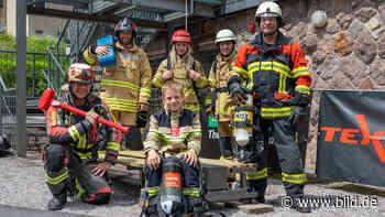 Feuerwehr von Ilmenau: Diese Sechs wollen Europameister werden - BILD