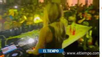 Polémica por masiva fiesta de Natalia París en Armenia - El Tiempo