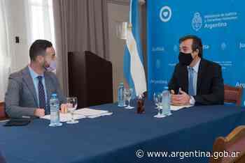 Soria se reunió con autoridades de Santa Fe: avances en obras carcelarias y en dispositivos de vigilancia electrónica - Argentina.gob.ar Presidencia de la Nación