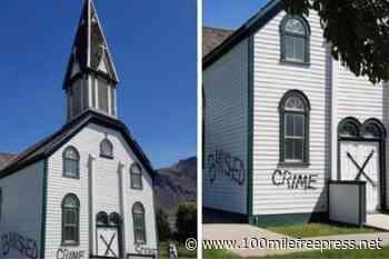Tk'emlups condemns vandalism at Kamloops Catholic church - 100 Mile Free Press