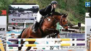 Pferdesport: Friesländerinnen glänzen am Strand - Nordwest-Zeitung