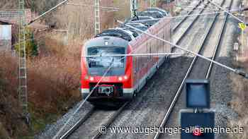 Zugstrecke bei Freihalden nur einspurig befahrbar - Augsburger Allgemeine