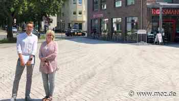 Baustelle am Markt: Neuenhagen hat jetzt einen Marktplatz - moz.de