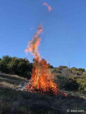 Planned burnings underway at Hearst San Simeon State Park | NewsChannel 3-12 - KEYT