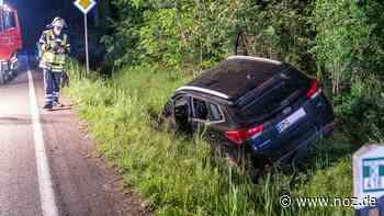 Unfall bei Hunteburg: Auto kommt von Straße ab und landet in Graben - noz.de - Neue Osnabrücker Zeitung