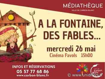 À la fontaine, des fables… Cinéma Favols mercredi 26 mai 2021 - Unidivers
