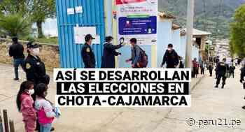 De esta manera se desarrollan las elecciones en Chota - Cajamarca - Diario Perú21