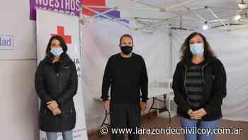 Inicio de la atención al público del Punto Fijo en la Filial Chivilcoy de la Cruz Roja - La Razon de Chivilcoy