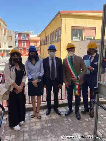 Le scuole di Floridia si rifanno il look: inaugurato il primo cantiere alla Pirandello - Siracusa News