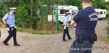 Corbetta: controllo della PL al campo nomadi di viale Borletti - Ticino Notizie