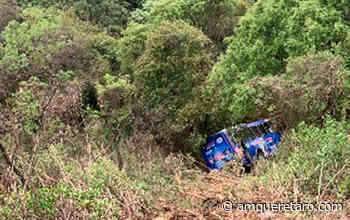 Autobús cae a barranca en Cuajimalpa; reportan 19 lesionados - Periodico a.m.