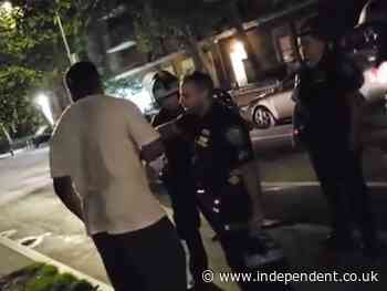 Man caught on camera hurling racist slurs at Asian NYPD officer