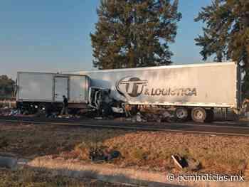 Se registra carambola vehicular en región de Vista Hermosa; hay 3 personas lastimadas - PCM Noticias