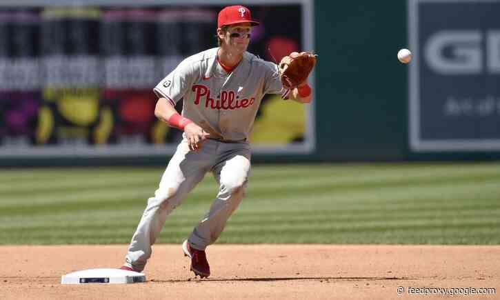 Phillies option Nick Maton to Triple-A Lehigh Valley
