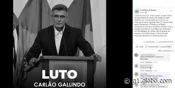 Vice-prefeito de Birigui, Carlão Gallindo morre de Covid-19 aos 52 anos - G1