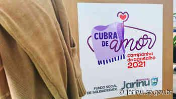 Cubra de Amor: Prefeitura de Jarinu e Centro Empresarial juntos na campanha do agasalho - Prefeitura Municipal de Jarinu