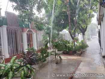 Cae la lluvia en Santa Marta en este lunes festivo - El Informador - Santa Marta