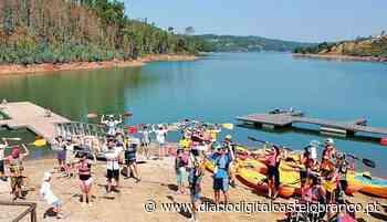 Praia Fluvial de Fernandaires recebeu centenas de participantes em experiências náuticas gratuitas - Diário Digital Castelo Branco