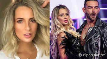 Macarena Gastaldo revela que Diego Val la buscó para hacer show para seguir en El artista del año - ElPopular.pe