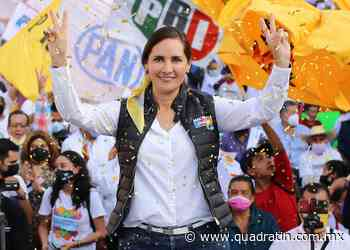 Será Macarena Chávez la próxima diputada federal de Pátzcuaro - Quadratín - Quadratín Michoacán