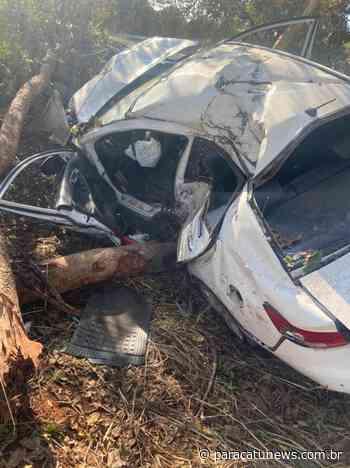 Cabo da Aeronáutica e primo sofrem acidente na MG-188 em Paracatu - Paracatunews