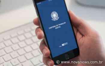 Boletim do emprego traz oportunidades de trabalho em Nova Andradina, - Nova News