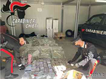 Francavilla al Mare: si aggrava la posizione del 29enne barese arrestato due giorni fa con 100 kg di droga - Rete8