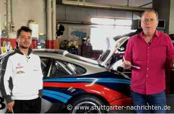 Langstreckenpilot Laurents Hörr aus Gerlingen - Kann ein Rennfahrer eigentlich auch einparken? - Stuttgarter Nachrichten