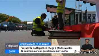 Funchal prepara comemorações do 10 de junho - RTP