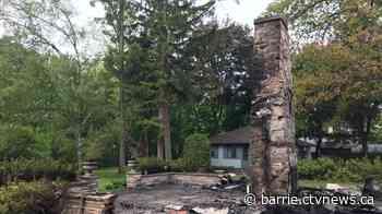 Early morning fire Thursday destroys a house in Innisfil   CTV News - CTV Toronto