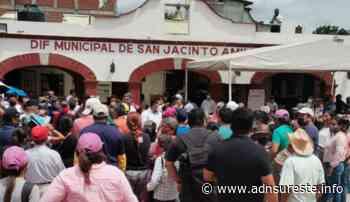 Habitantes y ex candidatos a la presidencia de San Jacinto Amilpas denuncian injerencia de edil en la elección (15:15 h) - ADNl sureste