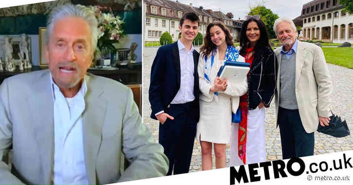 Michael Douglas, 76, admits getting mistaken for 18-year-old daughter's grandfather is 'a little rough'