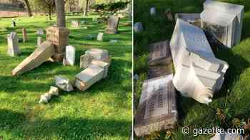 Manitou Springs residents offer reward money to find cemetery vandals - Colorado Springs Gazette