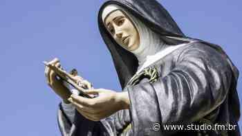 Ladrões roubam imagem de Santa Rita em Passo Fundo - Rádio Studio 87.7 FM | Studio TV | Veranópolis