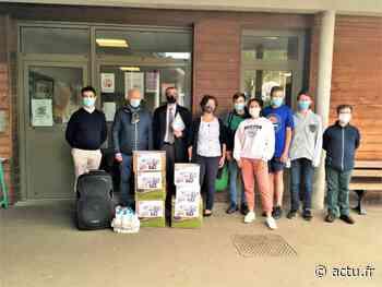 Etablissement Saint-Adjutor à Vernon : une collecte de savons solidaire - actu.fr