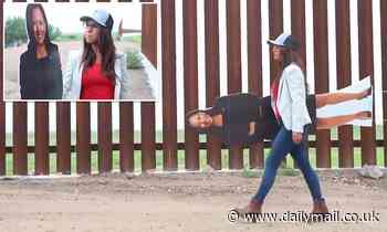 GOP Rep. Lauren Boebert takes Kamala Harris cardboard cutout to border