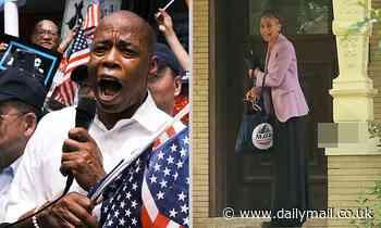 NYC Mayoral candidate Eric Adams slams 'hypocrite' Maya Wiley