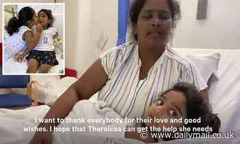 Heartbroken mother of girl who developed sepsis on Christmas Island issues an emotional plea