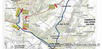 Lillebonne. RD 173 : les travaux reportés du 10 au 12 juin - Le Courrier Cauchois