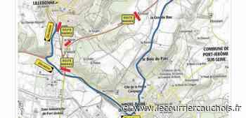Lillebonne. Travaux sur la RD173 : elle sera fermée de nuit du 7 au 9 juin - Le Courrier Cauchois
