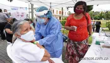Casi 3.500 dosis se aplicaron durante la Maratón de Vacunación en Risaralda - Caracol Radio